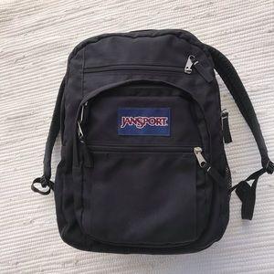 Like New Jansport Black Full Sized Backpack